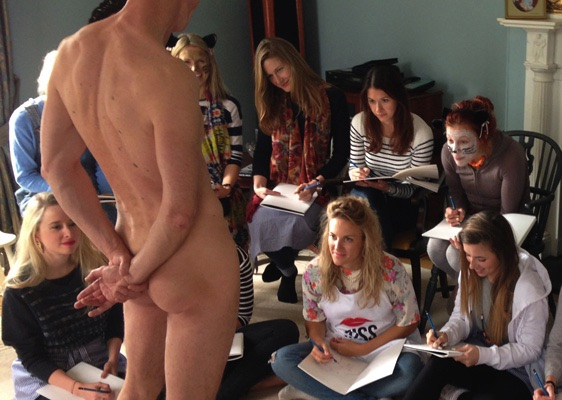 hen life drawing Norwich