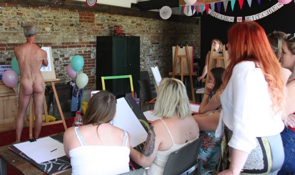 hen party lifedrawing demo